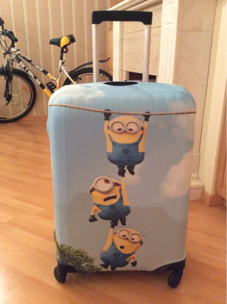 luggage cover xiaohuangren