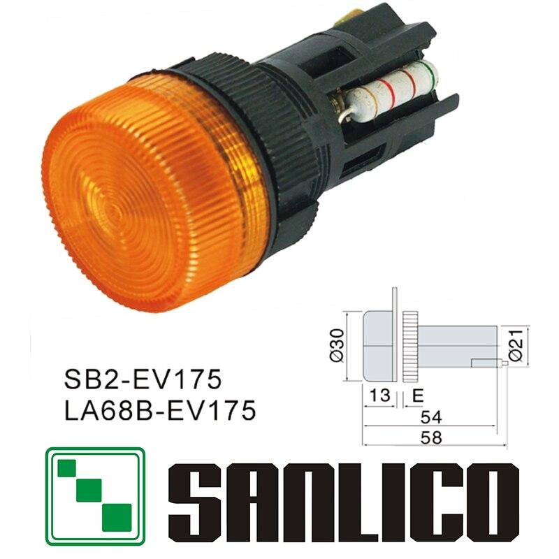 illuminated indicator signal lamp pilot light SB2(LA68B XB2)-EV175 (switch accessories)