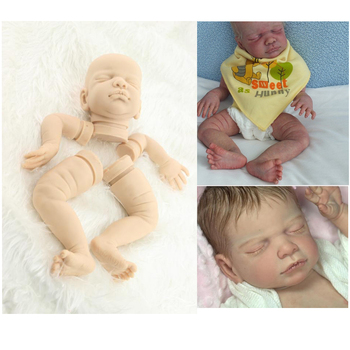 20Inch Reborn Doll Kits Rare solide silicone version Can DIY Different Kinds Of  Lifelike Silicone Reborn Baby Dolls