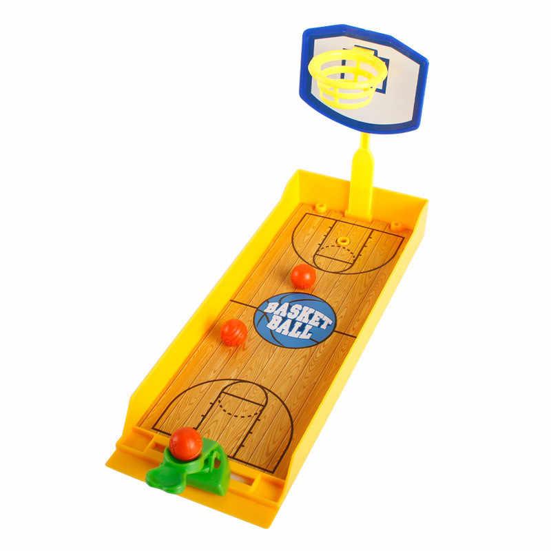 Funny Desktop Basketball Playing Toys Friends Competiton Toys Assembled  Mini Football Hockey Golf Shooting Game Legouiy