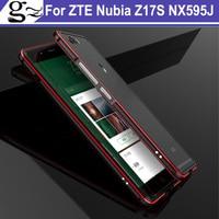 2PCS For Zte Nubia Z17S NX595J Bumper Original Luxury Armor Border Ultra Thin Aluminum Metal Frame