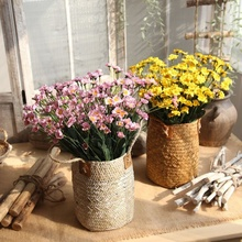 Small Daisies PE Artificial Flowers Artificial Flowers Wedding Decorations Home Paper Flowers Artificial Plants