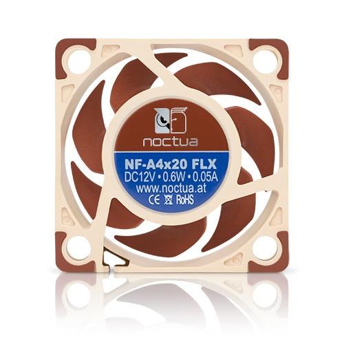 Image 3 - Noctua NF A4x20 FLX 40mm 40X40X20mm 5000 RPM 14.9 dB(A) PC  Cooling Fan Cooler Fan Radiator fan Computer Cases & Towers Fan-in Fans & Cooling from Computer & Office