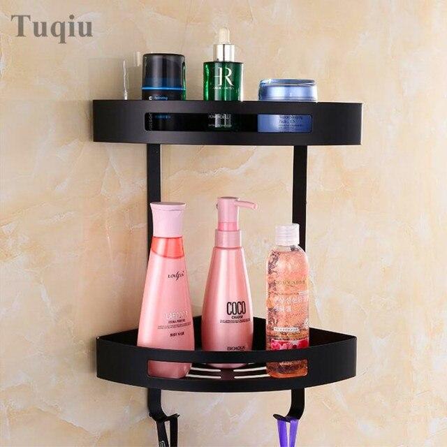 Free Shipping Black Antique Stainless Steel Bathroom Soap Dish Bath Shower Shelf  Bath Shampoo Holder Basket