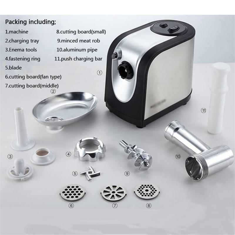Stainless Steel Small Household Electric Bird Bait Chicken Feed