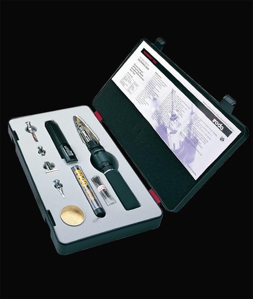 цена на iroda PRO-100K 30-100W gas soldering iron kit 4-in-1 Wireless  soldering heat transfer torch 1300degree  120minute use