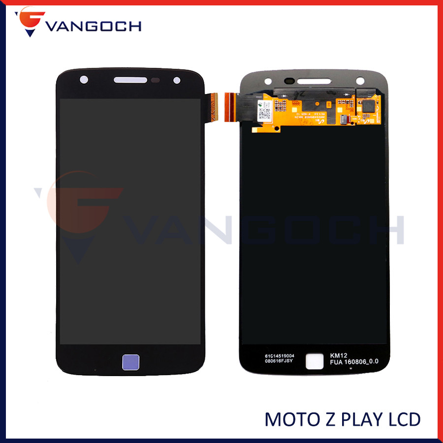 Original For Motorola <font><b>Moto</b></font> <font><b>Z</b></font> <font><b>Play</b></font> <font><b>LCD</b></font> Display + Touch Screen Digitizer Panel Assembly Replacement For <font><b>Moto</b></font> <font><b>XT1635</b></font> <font><b>LCD</b></font> Z2 <font><b>Play</b></font> image