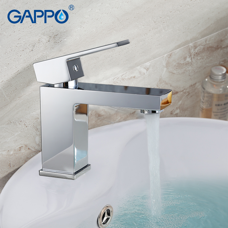 GAPPO Basin Faucets basin mixer sink taps deck mounted sink water tap waterfall faucet bathroom waterfall