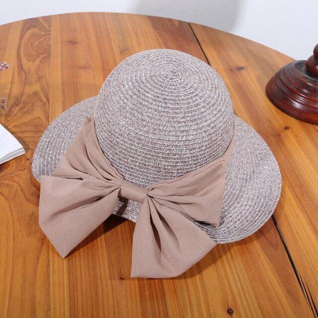 Sombreros de verano para las mujeres 2017 sombrero de visera al aire libre  escalada plegable flojo 67828586bd1