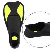 New Arrival 1 Piece Adult Diving Fins Soft TPR Foot Pocket Training Fins Multi Size Swimming