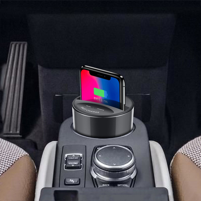 Universal Fast Wireless Car Charger Cup