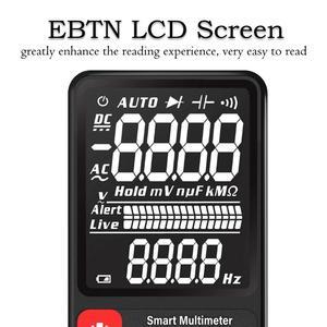 Image 3 - BSIDE ADMS7 Spannung Tester 3.5 Große LCD Digital Smart Multimeter Triple Display TRMS 6000 Zählt DMM mit Analog Balken