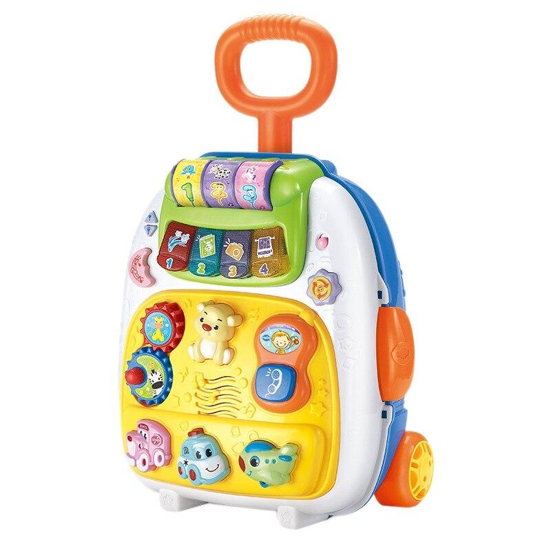 Enfants valise sac à dos léger valise transport bagages roue jouets pour enfants garçons Brinquedos Menino jouet éducatif