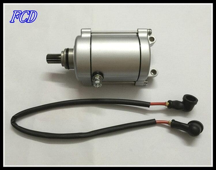 Motorcycle starter motor CG250 CG200 ATV motor water cooling 11 teeth start Reversal