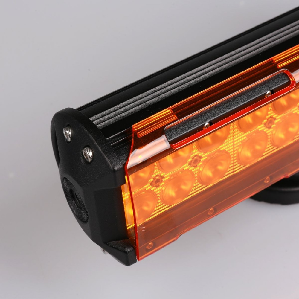 18W / 36W Snap On LED Work Light Bar Dust Proof Protective Covers 4×4 4WD Amber Clear Brown Black Red Green Blue Color Shell ATV