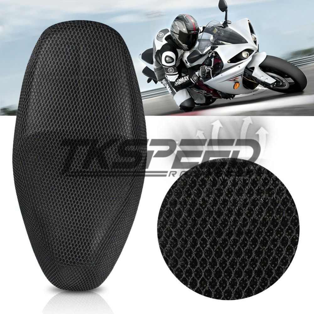 3D sun proof Motorcycle scooter electric bicycle sunscreen seat cover Prevent scooter sun pad Heat insulation Cushion protect