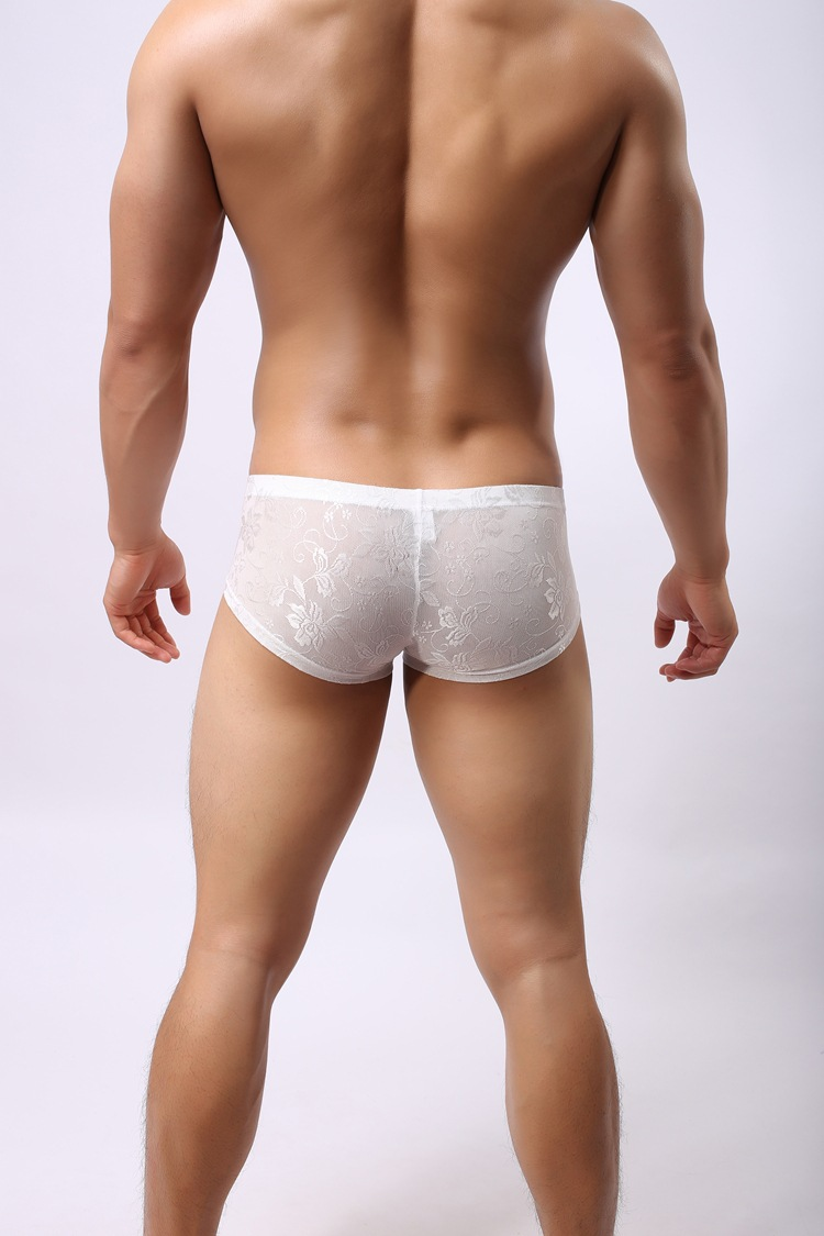 Lace Underwear for Men. There are men who love how love lace feels when they touch it on their women and then there are men who like to keep the same for themselves to feel pampered.