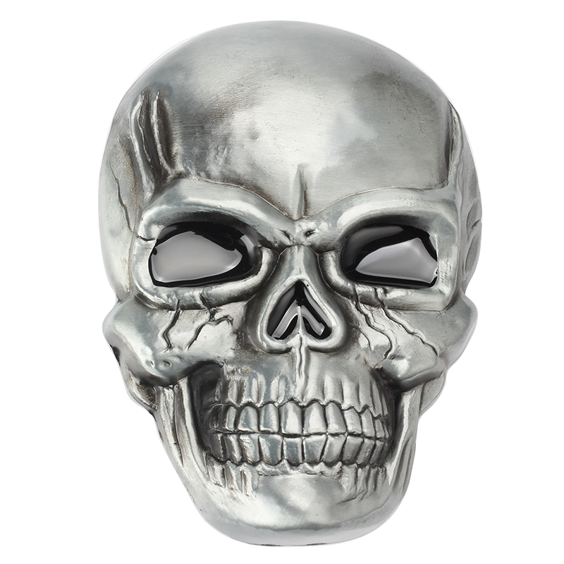 Big Skull Metal Belt Buckle