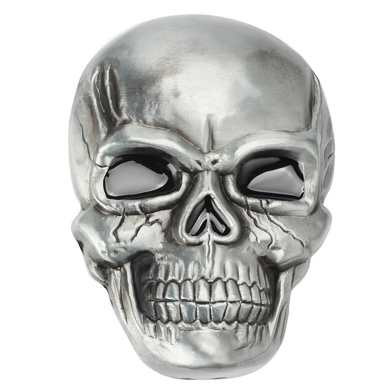 Big Skull Metal Belt Buckle