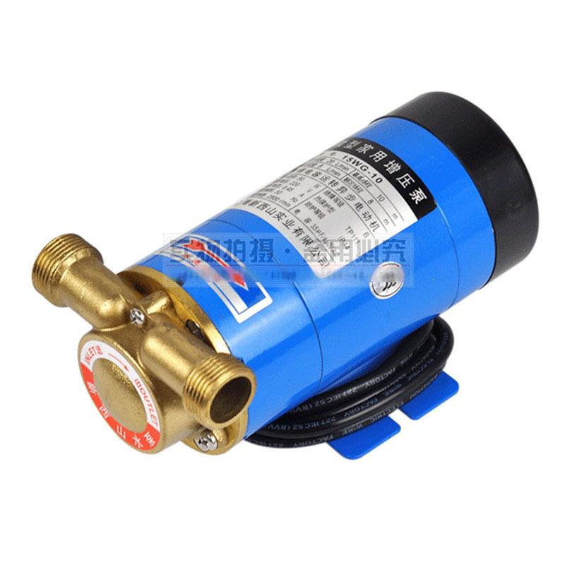 CE Approved  Household Booster Pump 15WG-10 Copper structure,water heater increase pressure,cooling circulation,filtrade 120w self priming automatic household stainless water pressure booster pump