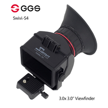 GGS Swivi S4 3.0x 3.0 16:9 LCD Camera Viewfinder for Sony a7 a7R a7S NEX-7 NEX-6 NEX-5R NEX-5T A6000 A5000 DSLR view finder meike mk s 35 1 7 35mm f1 7 large aperture manual focus lens aps c for sony nex 3 3n 5 5t 5r 5n nex 6 7 a5000 a5100 a6000 a6300