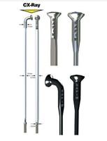 12pcs/lot free shipping Sapim CX Ray Spokes, BLACK, Bladed Aero Spokes, 230 310mm with Aluminium Nipples