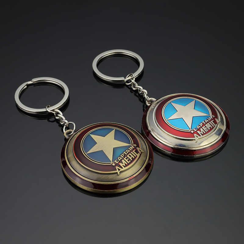 Infinity War Avengers 3 Marvel Thor's Hammer Mjolnir porte-clés jouets en métal argenté Thor Odinson marteau porte-clés porte-clés enfants jouets