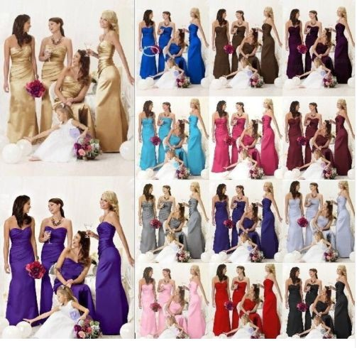 Purple and Turquoise Blue Bridesmaid Dresses_Bridesmaid ...