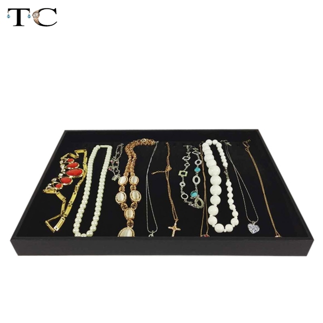 Aliexpresscom Buy Necklace Display Tray Jewelry Accessories Case