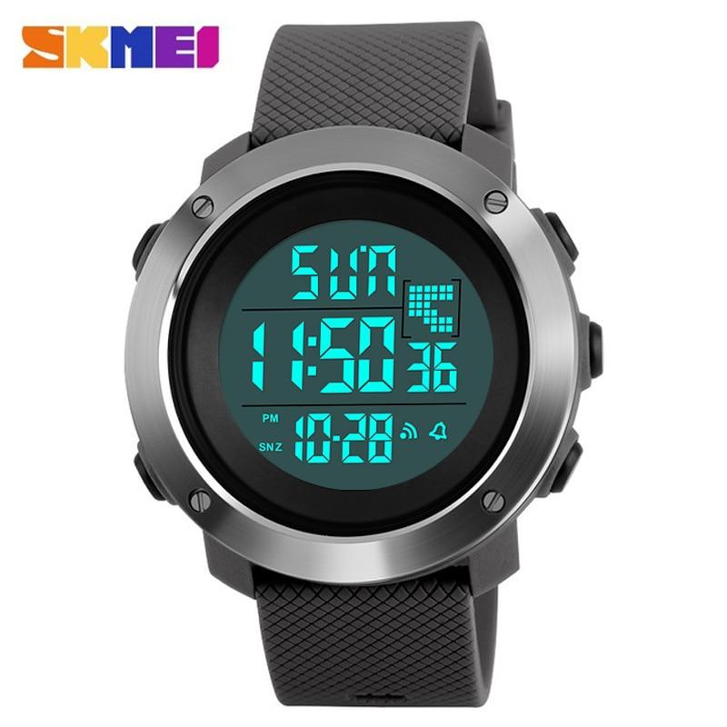 SKMEI Men s Brand Sports Military Watches Men Dive 50m LED Digital Watch Man Fashion Casual