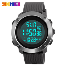 SKMEI Men's Brand Sports Military Watches Men Dive 50m LED Digital Watch Man Fashion Casual Clock relogio masculino 2017