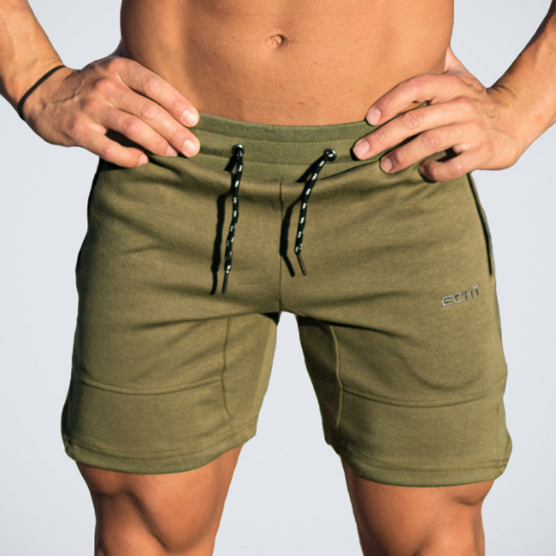 2017 Quality Men Golds Brand Fitness Shorts Mens Professional Bodybuilding Short Pants Big Size