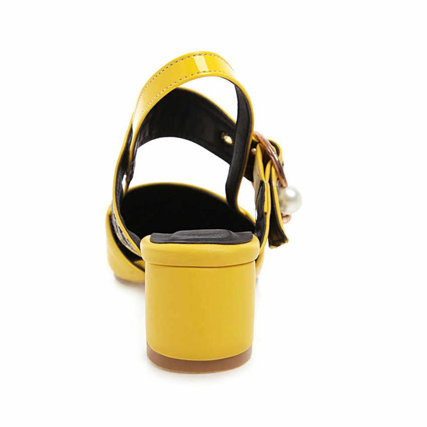 Kadınlar Yüksek Topuklu D'Orsay Pompaları Yüksek Topuk Ayakkabı Kadın Parti Düğün Ayakkabı Yavru Topuklar Artı Boyutu 32-40 41 42 43 44 45 46 47 48