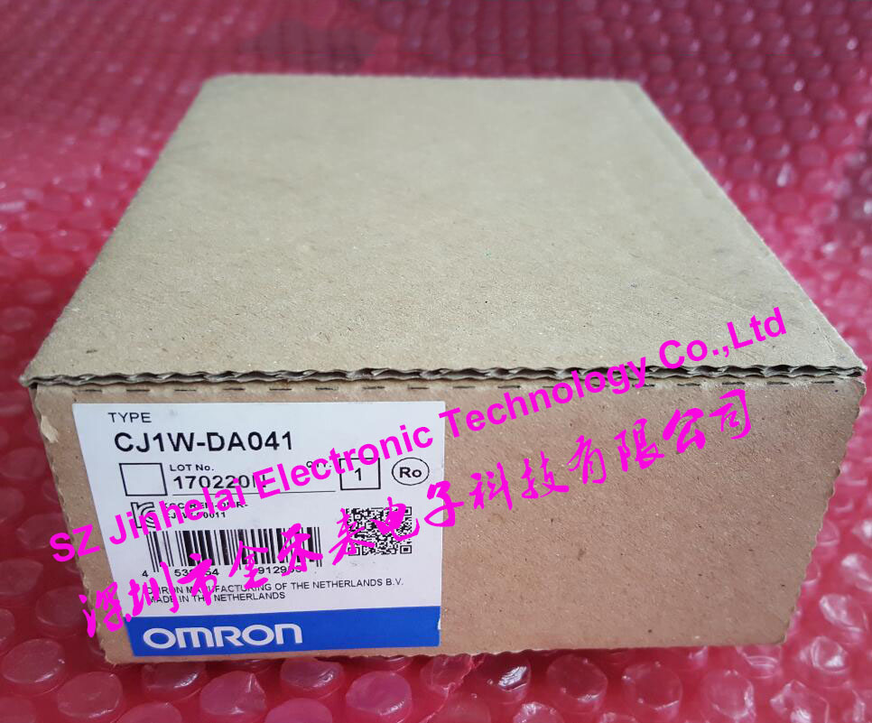 New and original CJ1W-DA041 OMRON PLC dhl eub 2pcs original for omron new cj1w pd022 sha03 cj1wpd022 plc module 15 18