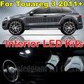 9X Белый Ошибка Бесплатный Купол Чтение Грузовик Лампы Canbus Свет для VW Volkswagen Touareg 3 T3 Интерьер Свет Комплект Пакет 2011 +