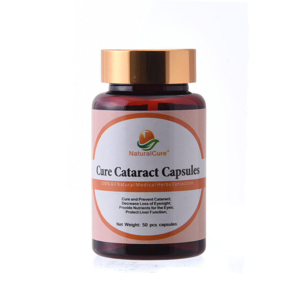 NaturalCure Cure Cataract Capsules, Decrease Sight Loss, Prevent Eye Diseases, Plants Extract Pills No Side Effect