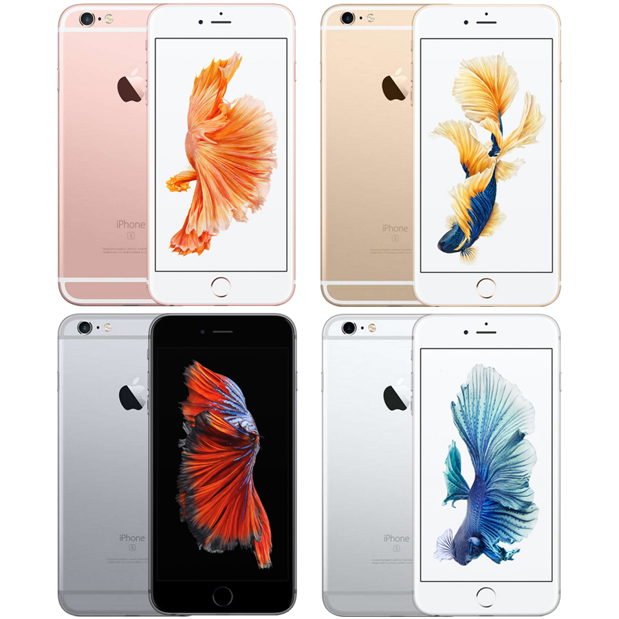 Image 2 - Unlocked Apple iPhone 6s 2GB RAM 16/64/128GB ROM Cell Phone IOS A9 Dual Core 12MP Camera IPS LTE Smart Phone iphone6s-in Cellphones from Cellphones & Telecommunications