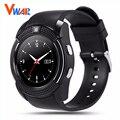 V8 Smart Watch Часы С Сим TF Карт памяти Bluetooth подключения для Apple iPhone Android Телефон Smartwatch Часы VS GT08 DZ09
