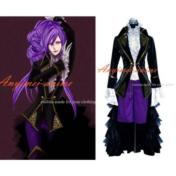 Vocaloid Kaito платье костюм для косплея костюм Сделанные на заказ [G320]