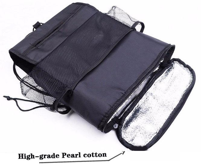 Hanging bag Mummy Bag Cloth bag High-capacity Ice pack heat preservation New pattern vehicle Comfortable image