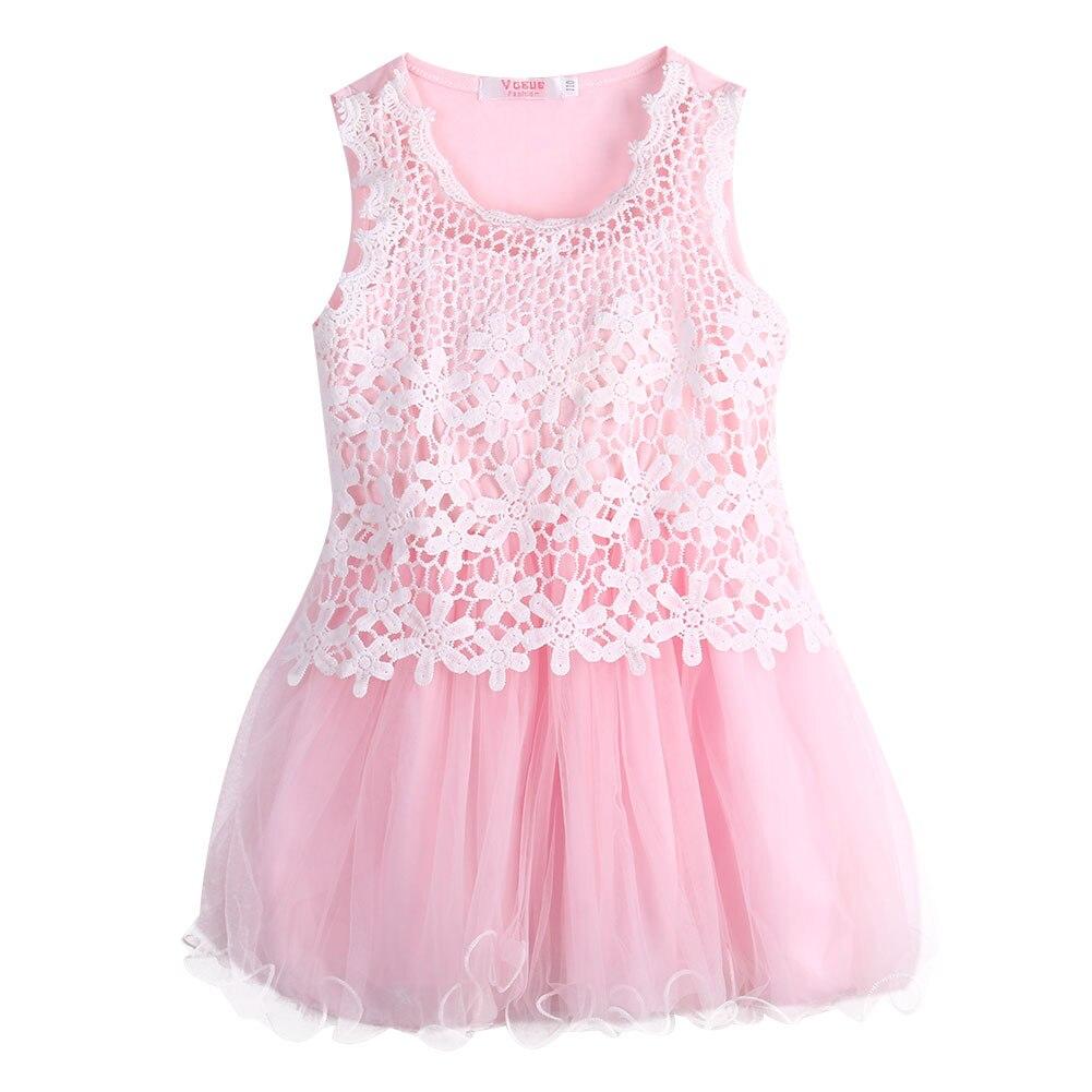 Djevojke djevojke princeza čipka kuka cvjetni tulle haljina party - Dječja odjeća