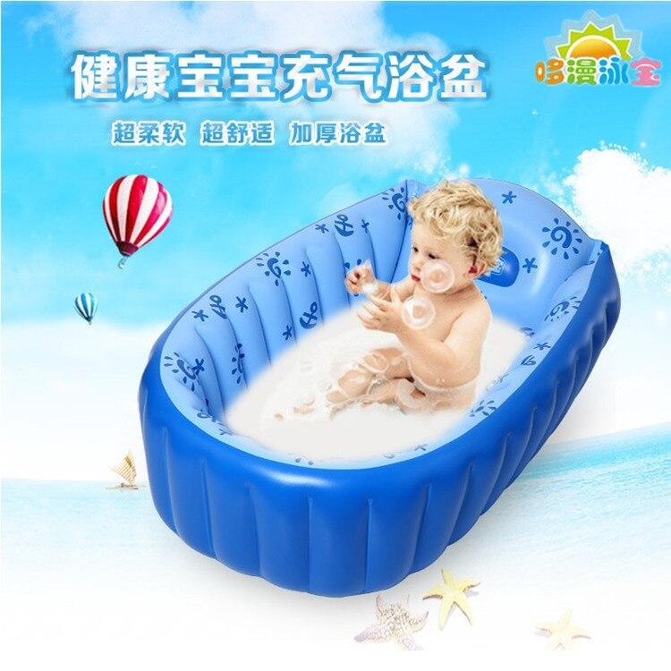 Bébé Baignoire Bain Diffuse Épaississement de Grand Gonflable Enfants de L'environnement TummyTub