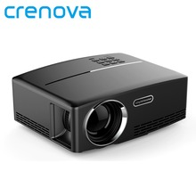 Crenova GP80 Proyector DLP 800*480 HDMI USB Mini Reproductor Multimedia Proyector Casero Proyector Multimedia Caliente 1800 Lumen