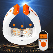 цены New Cervical and Neck Massager Electric Shiatsu Roller  Infrared Heat Device Home Car Massage Health Care Machine