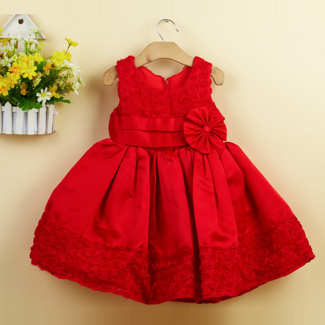 94f7c6f9265e8 2015 Girls Clothes Kid Elsa 2017 Christmas Newest Girls Dresses Baby  Toddler Party Dress Openwork Rose Girl Clothes Lace Flower