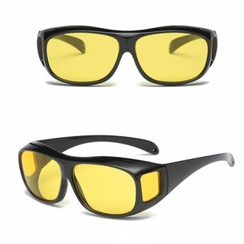 Night Vision Driver Goggles Unisex H D Vision Sun Glasses Car Driving Glasses UV Protection Polarized Sunglasses Eyewear