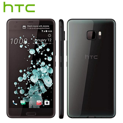 Novo htc u ultra lte 4g telefone móvel 4 gb ram 64 gb rom snapdragon 821 quad core 5.7 polegada 16mp dualview android smartphone
