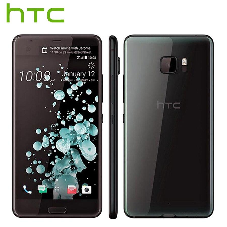 Tout nouveau HTC U Ultra LTE 4G téléphone portable 4 GB RAM 64 GB ROM Snapdragon 821 Quad Core 5.7 pouces 16MP DualView Android Smartphone