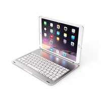7 Colors Backlit Light Wireless Bluetooth Keyboard Protective Slim Hard Shell Folio Stand Smart Cover For