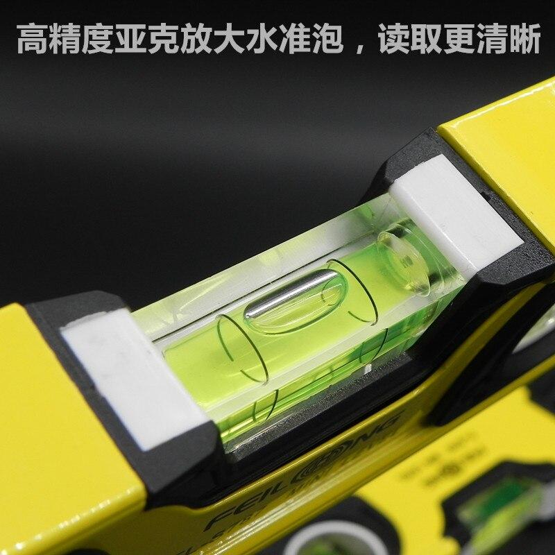 KACY envío gratis 200MM / 180mm nivel de burbuja de tubo de nivel de - Instrumentos de medición - foto 5